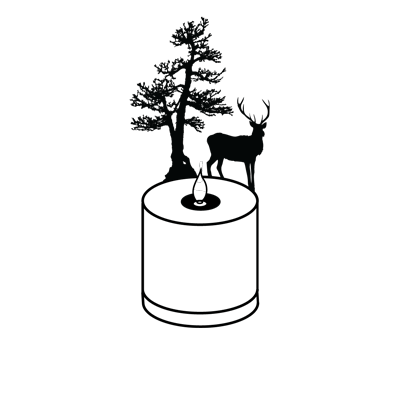 An image of LUMEN FLAME DEER, a product designed and made by Adam Frank.
