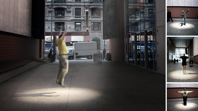 An image of PERFORMER, an installation by Adam Frank.