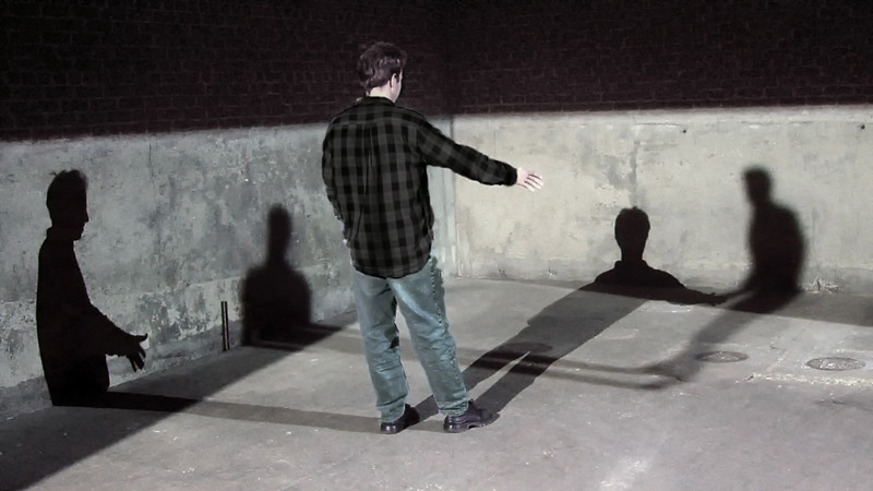An image of SHADOW, an installation by Adam Frank.