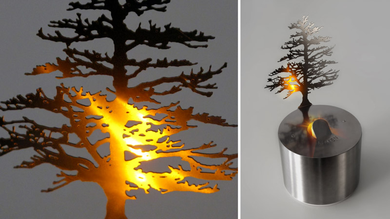 An image of LUMEN LED, a product designed and made by Adam Frank.